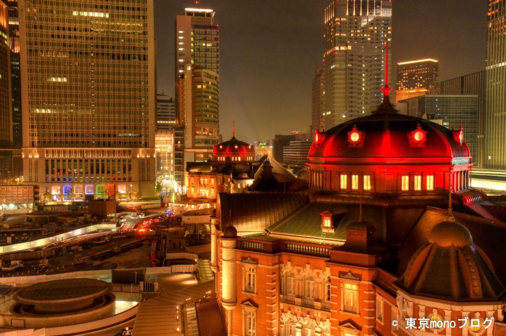 東京駅夜景@KITTE_HDR
