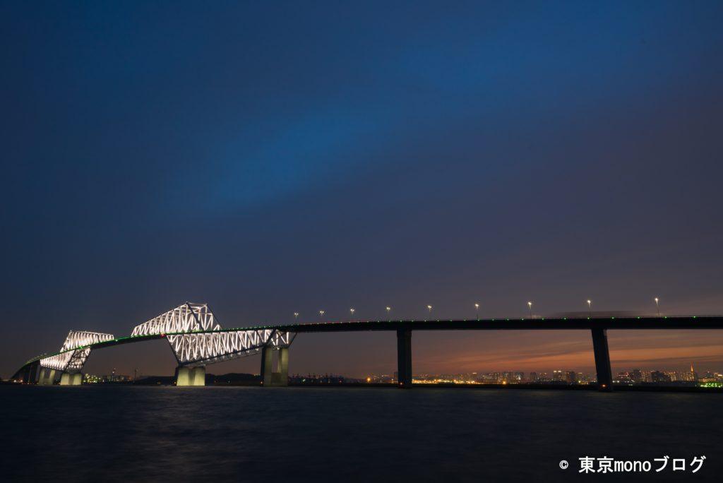 ゲートブリッジ夜景@若洲海浜公園