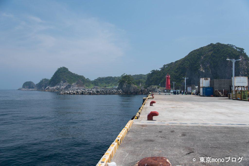 式根島-野伏港