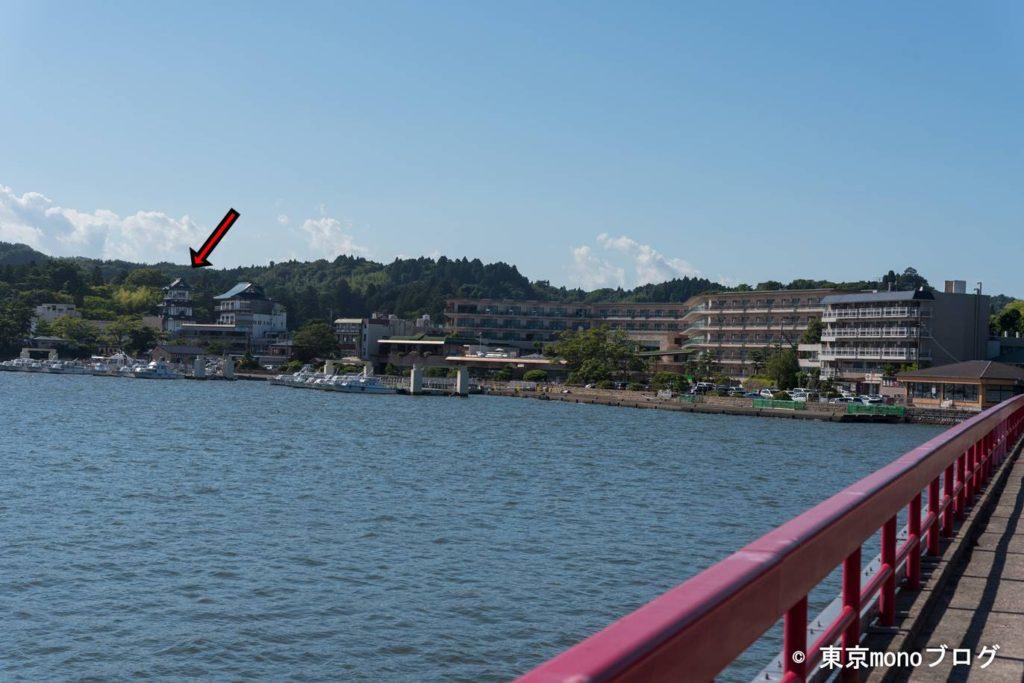 松島の展望台