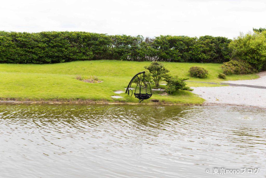 藤田喬平ガラス美術館水上庭園