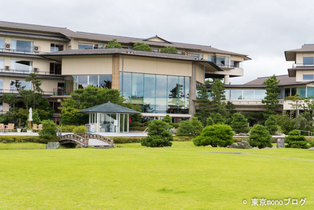 藤田喬平美術館水上庭園