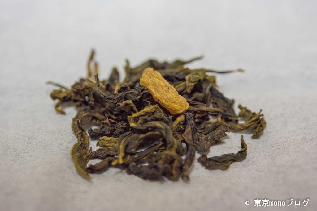 クイーンズマスカット烏龍の茶葉