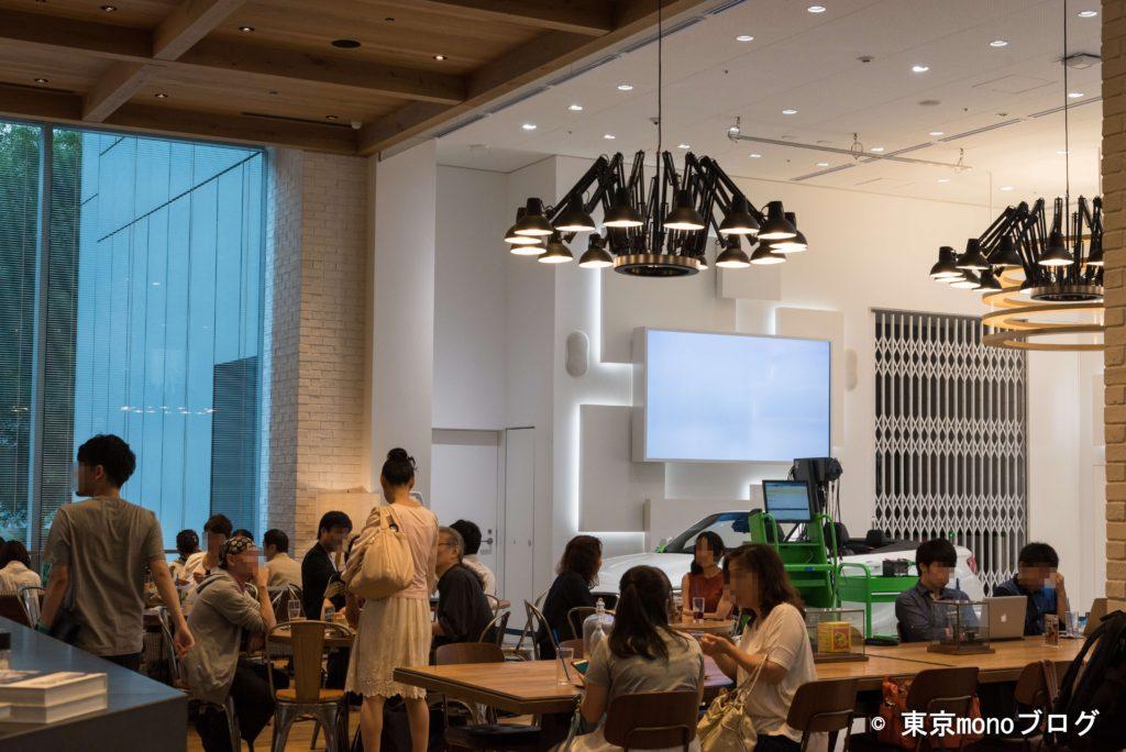 cafe a886 at Boschの店内