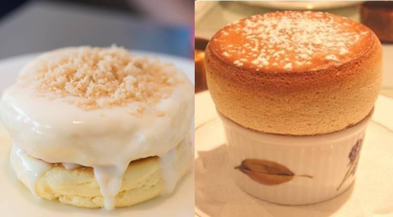 パンケーキとスフレの違い