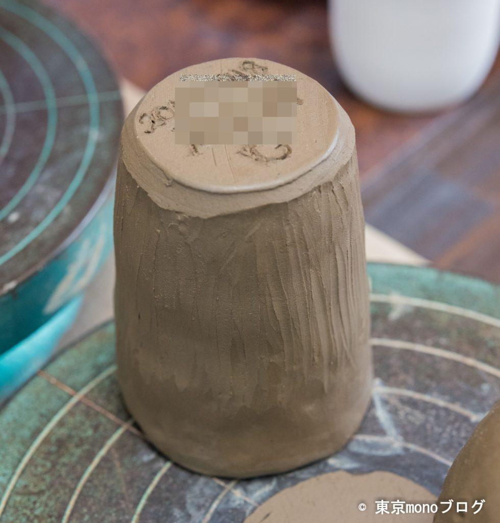 つくば陶芸舎手びねり陶芸体験。成型完成。