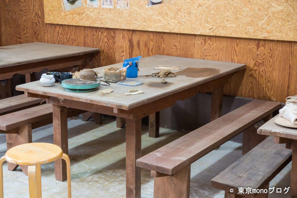 陶芸舎さんの工房