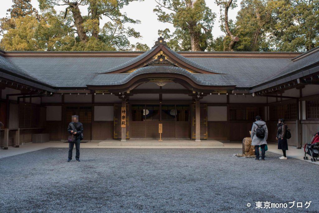 外宮にある神楽殿