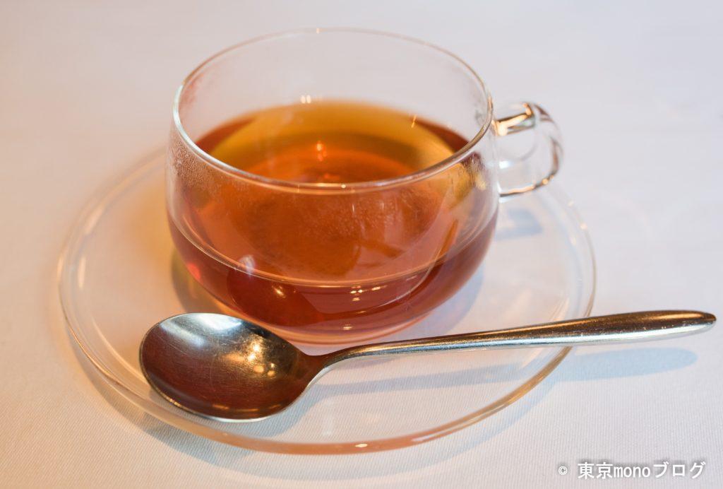 丸の内のイルギオットーネの食後の紅茶