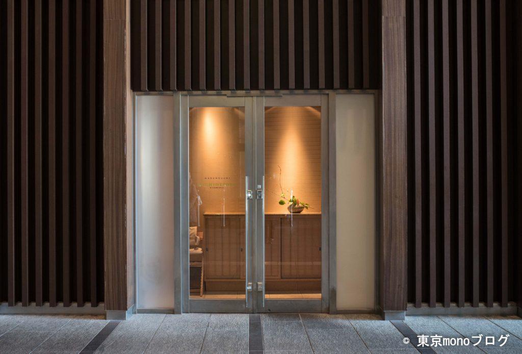 TOKIAビル内のイルギオットーネの入り口