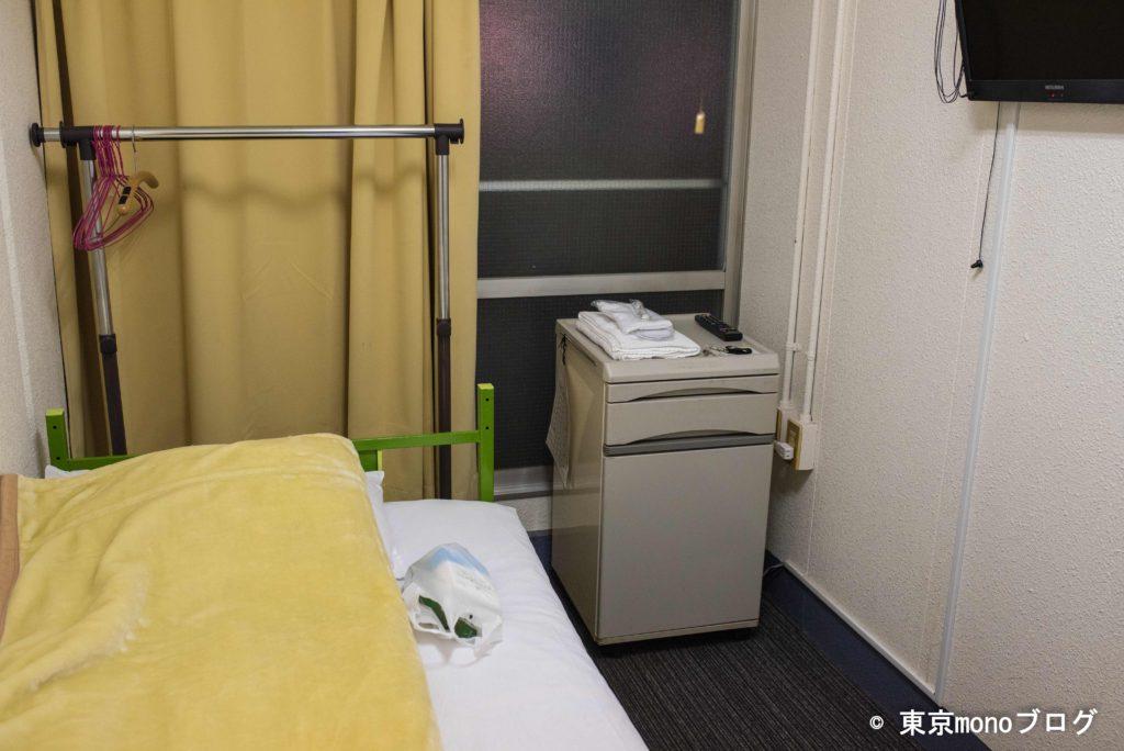 名古屋の松竹梅ホテルの部屋