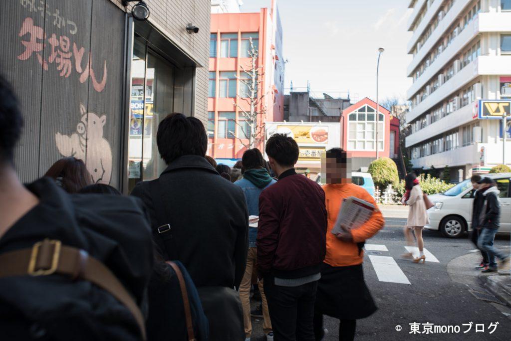 矢場トン本店の行列