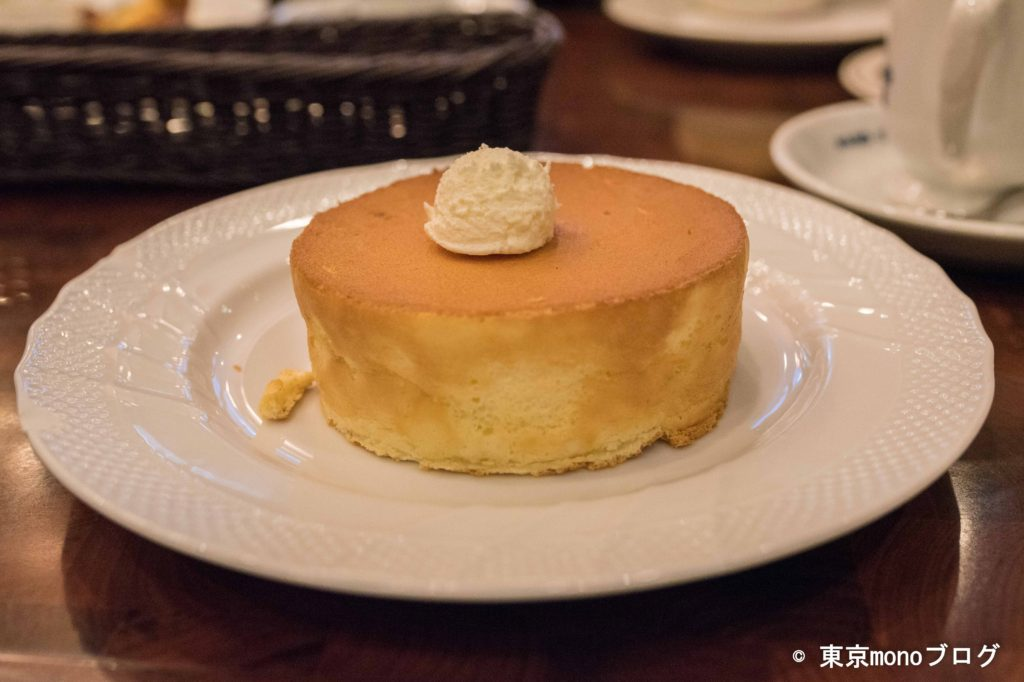 星乃珈琲店の元祖スフレパンケーキ