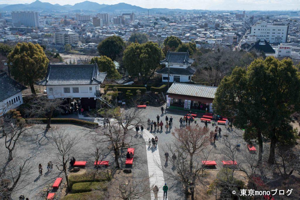 犬山城の全景