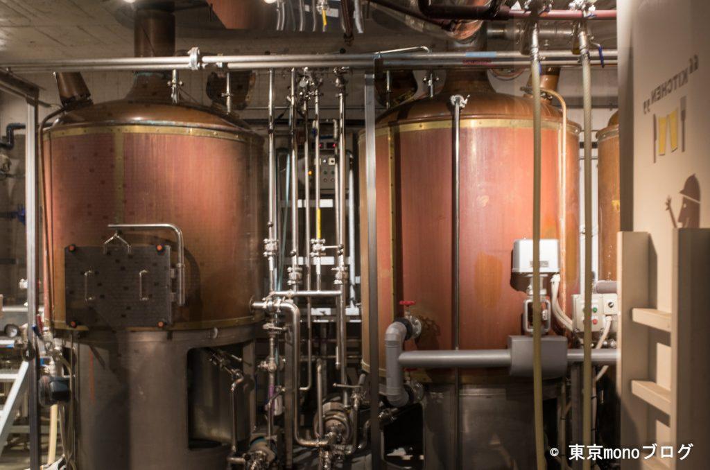 名古屋のY MARKET BREWINGの醸造所