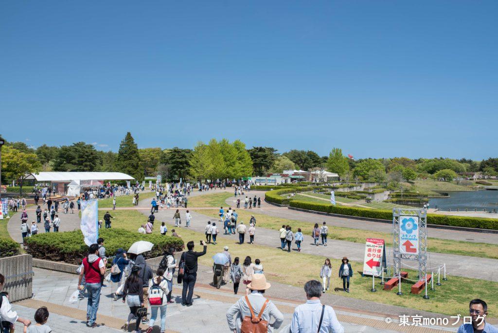 国営ひたち海浜公園の入り口