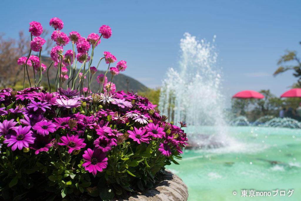 強羅公園の噴水