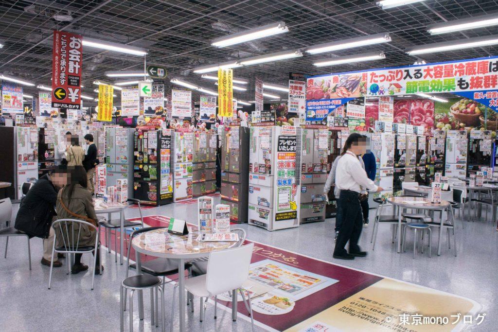 ヨドバシカメラ秋葉原店の店内の様子
