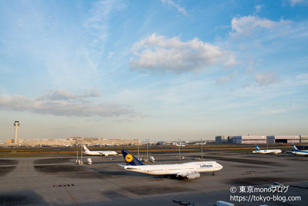 SIGMA35mmF1.4で撮影した成田空港の飛行機