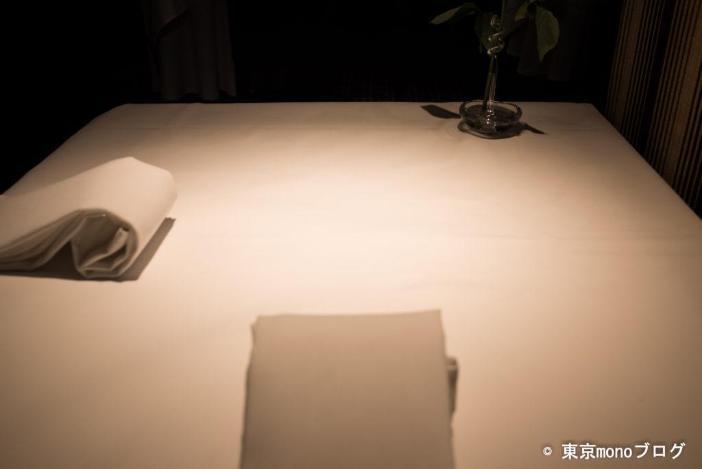 リストランテ・ヒロ青山 テーブル