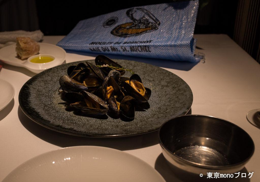 リストランテ・ヒロ青山 ムール貝の白ワイン蒸し