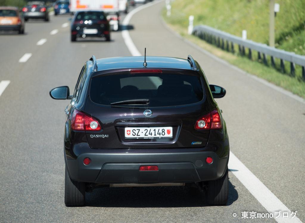 スイスの車のナンバープレート