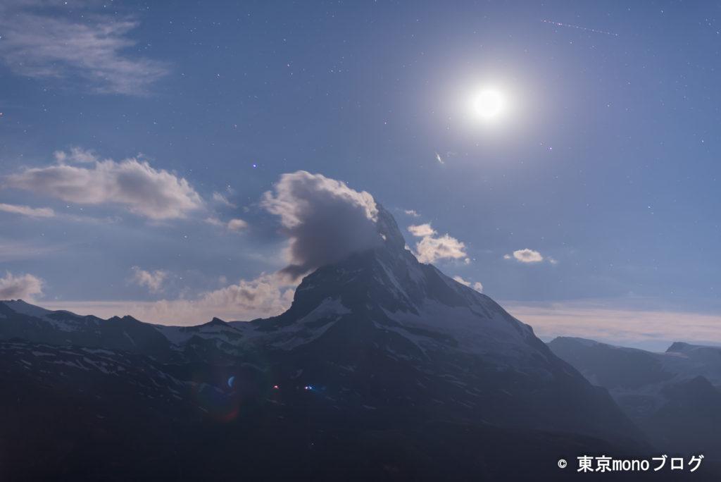 スネガ展望台から撮影したマッターホルン