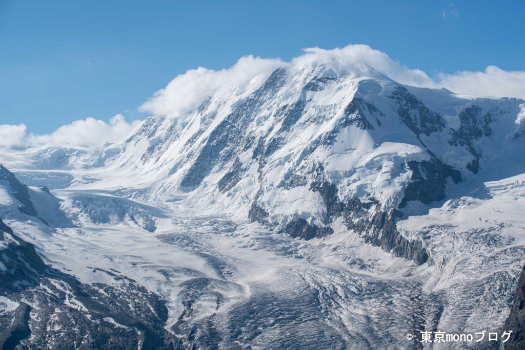 壮大な氷河