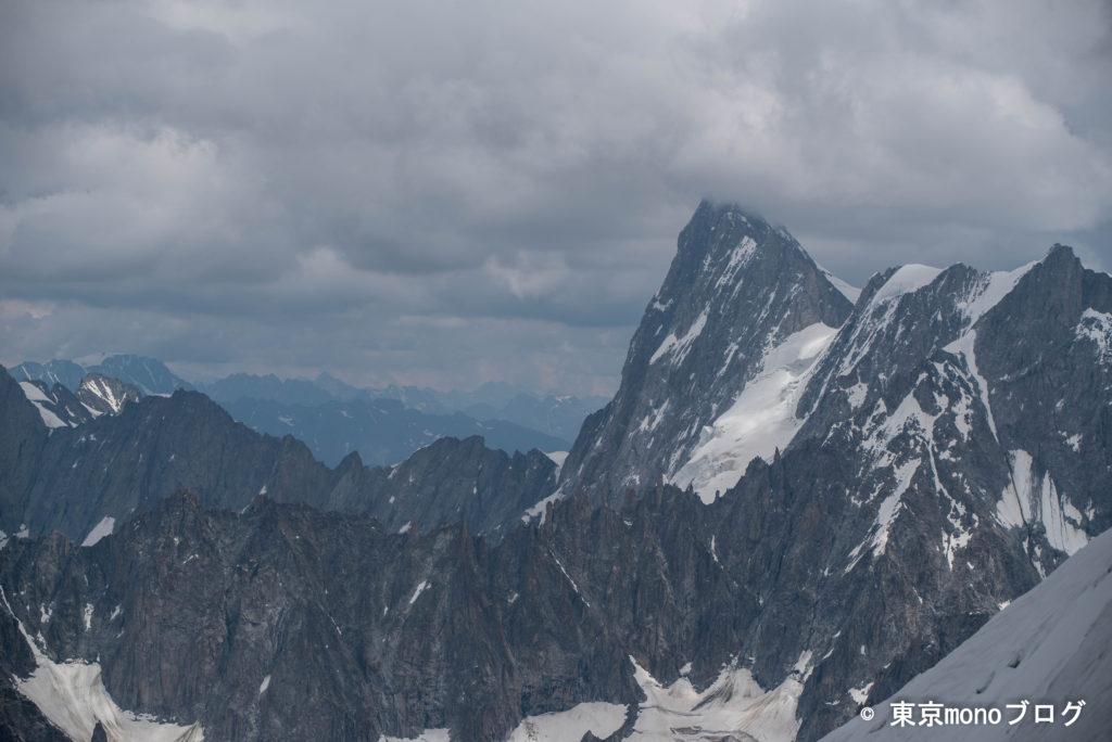 壮大なアルプスの景観