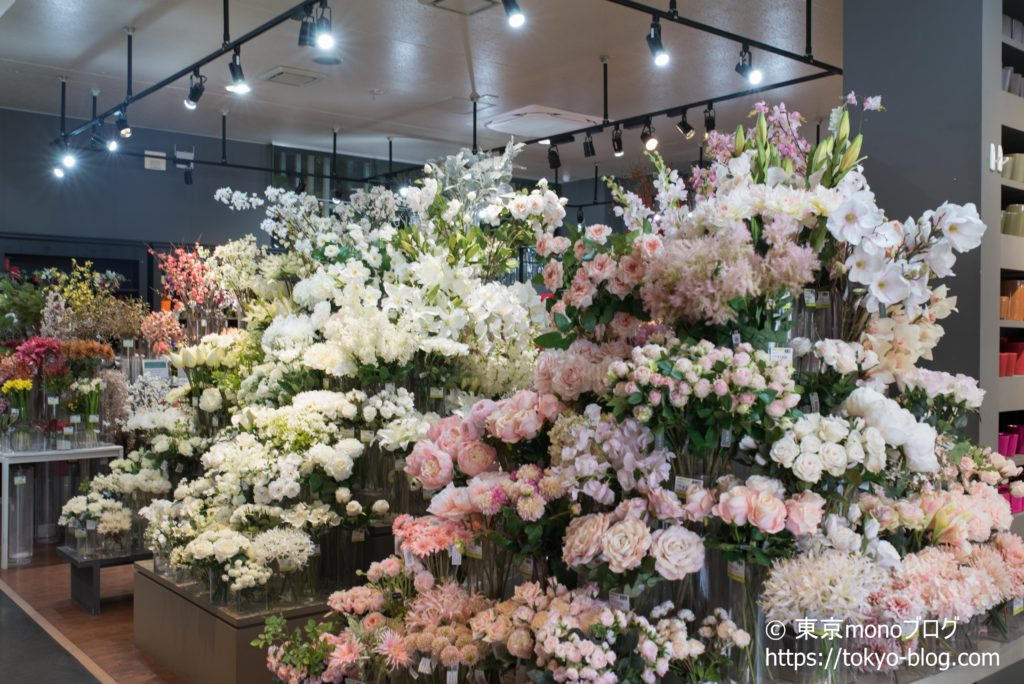 本物と見間違うような完成度の造花