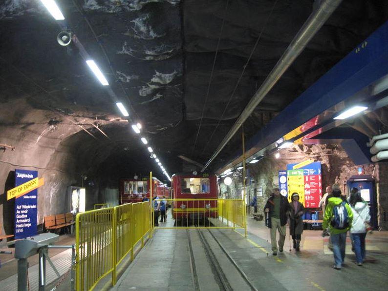 ユングフラウヨッホ駅