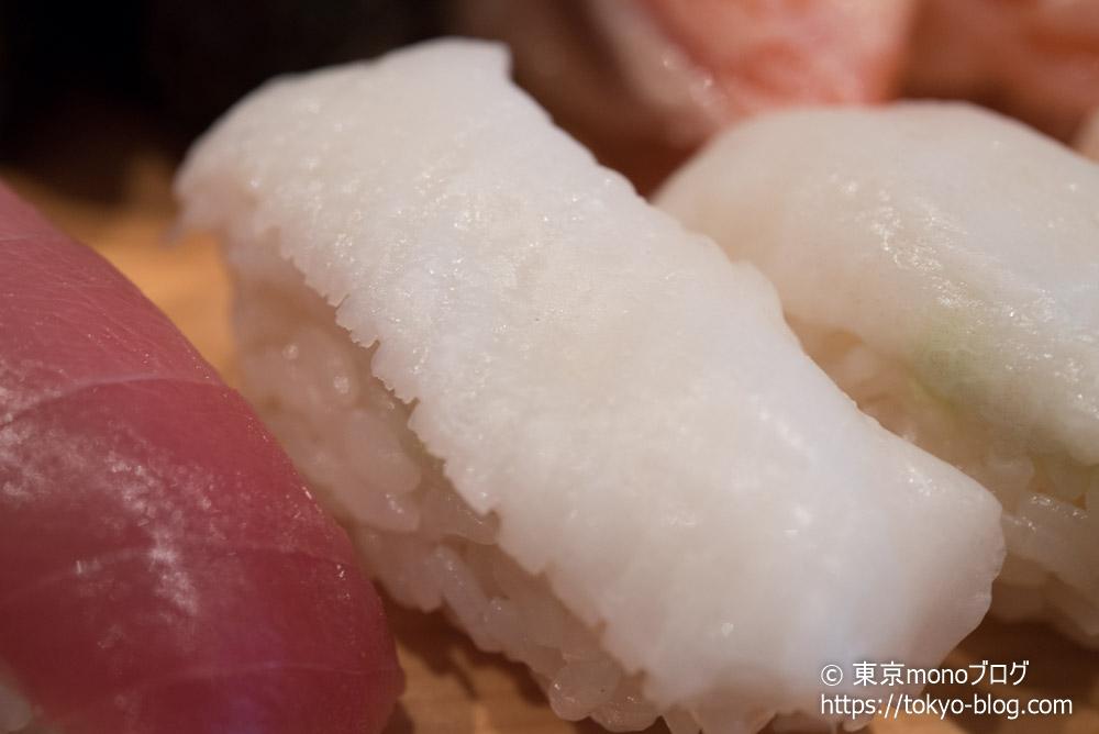 築地玉寿司の「えんがわ」