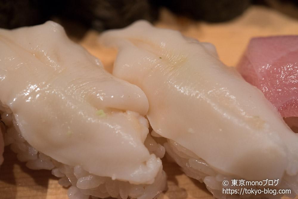 築地玉寿司の「石垣貝」