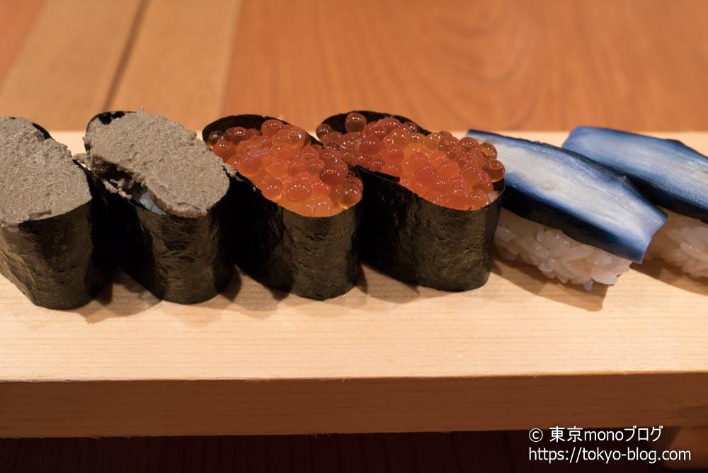 高級寿司食べ放題3巡目